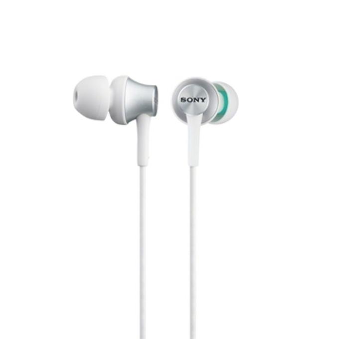 Слушалки Sony MDR-EX450AP, бели image