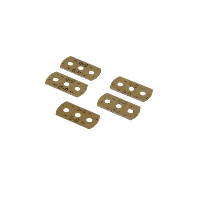 Резервни остриета Xavax 110726 за шпатула за почистване на керамични плотове, 5бр. image