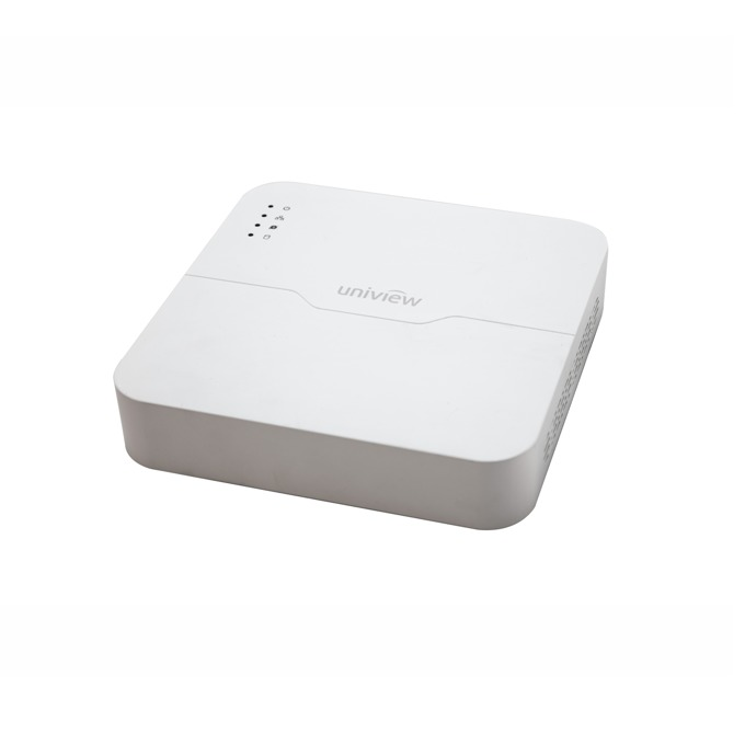 IP видеорекордер Uniview NVR201-08LP, 8 канала, H.264, 1x SATA, 1x USB 3.0, 1x USB 2.0, 1x LAN 10/100Mbps, PoE, HDMI, VGA image