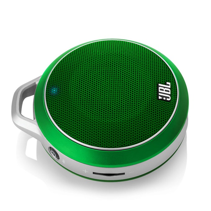 Тонколона JBL Micro, 1.0, 3W RMS, безжична, 3.5mm jack/Bluetooth, зелена, до 5 часа работа image