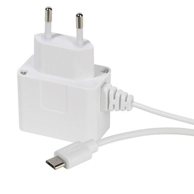 Зарядно устройство Vivanco 36265, 1А, USB MicroB, 5V, универсално, бяло image