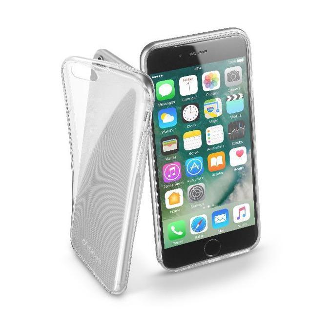 Страничен протектор с гръб Cellular Line za iPhone 7, прозрачен image