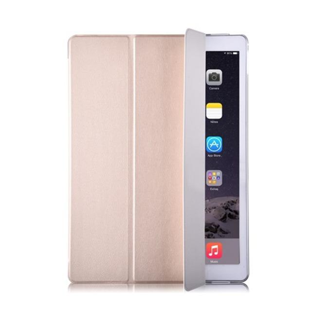 "Калъф /тип бележник/ за таблет Apple iPad PRO, до 12.9"" (32.76 cm), еко кожа, златист image"