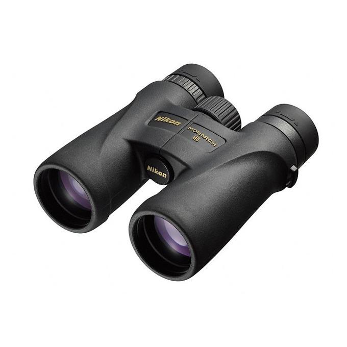 Бинокъл Nikon Monarch 5, 10x42 оптично увеличение, черен image