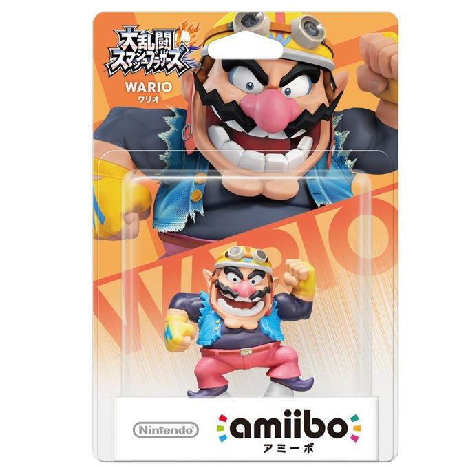 Фигура Nintendo Amiibo - Wario, за Nintendo 3DS/2DS, Wii U image