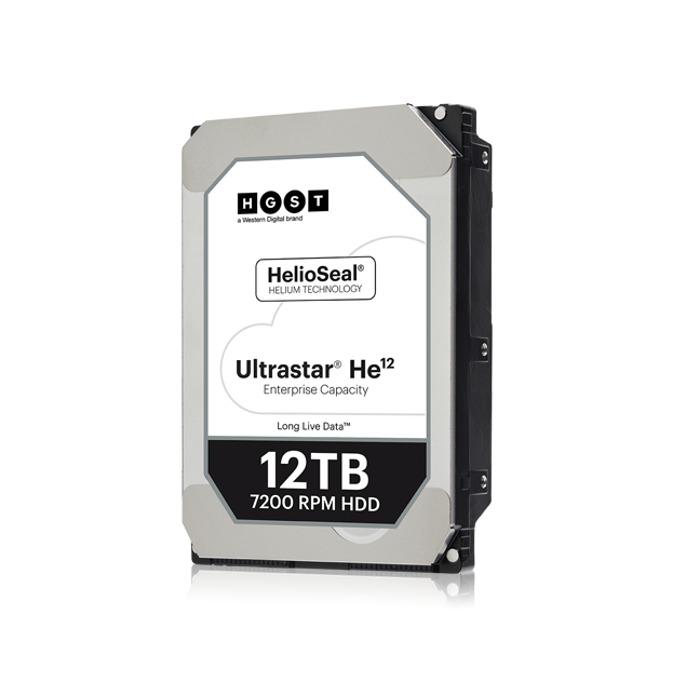 """Твърд диск 12TB HGST Ultrastar He12 HUH721212AL5200, SAS 12Gb/s, 7200 rpm, 256MB кеш, 512e sector size(ISE), 3.5"""" (8.89cm) image"""
