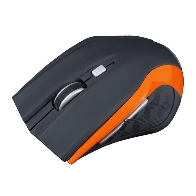 Мишка Modecom WM5, безжична, оптична (1600 dpi), черна image