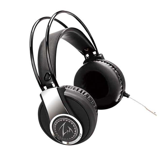 Слушалки Zalman ZM-HPS500, микрофон, gaming, 2.35м кабел, черни image