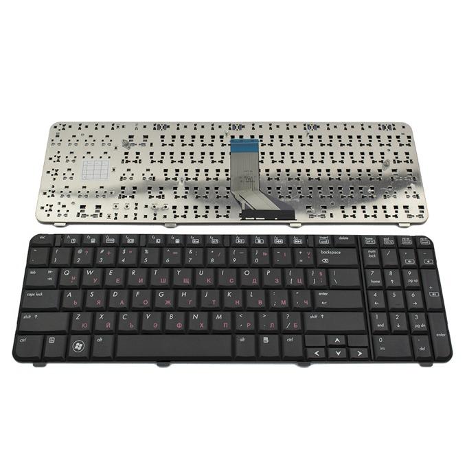 Клавиатура за HP G61/COMPAQ Presario CQ61, US, кирилица, черна image