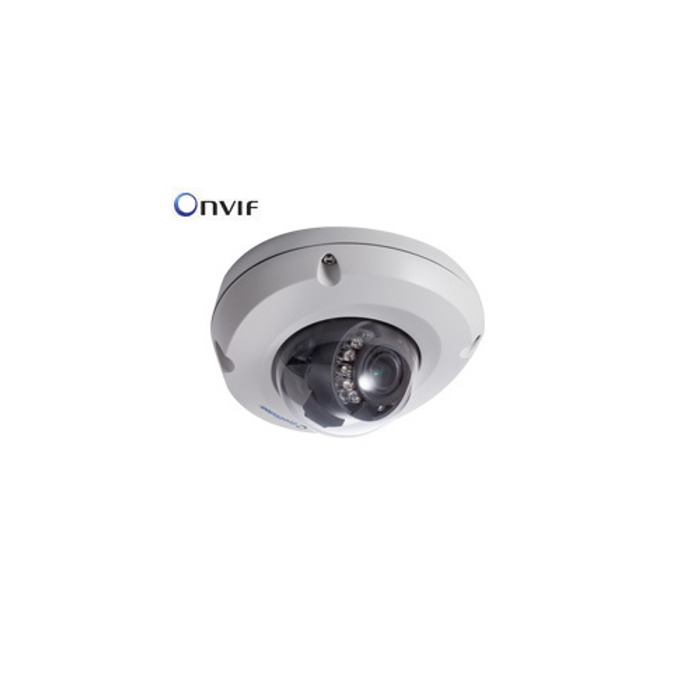 IP камера GEOVISION EDR2100-2F, 2.0Mpx, Mini Fixed Rugged Dome, 3.80мм обектив, PoE, H.264, WDR image