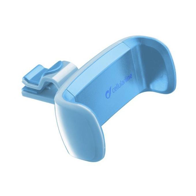 Стойка за кола Cellular Line, за въздуховод, универсална, синя image