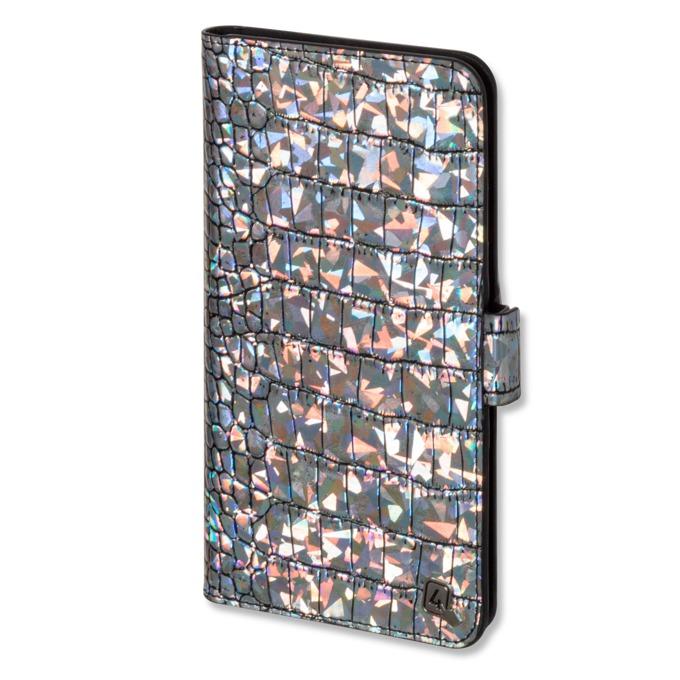 "Калъф за телефони до 5,2"", отваряем, еко кожа, 4smarts Ultimag Book Norwalk Croco, разноцветен image"