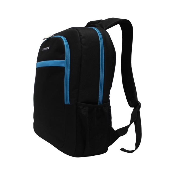 """Раница за лаптоп Dicallo LLB9256B15L, до 15.6"""" (39.60cm), полиестер, черна-синя image"""