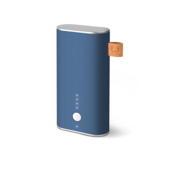 Външна батерия/power bank/ Fresh n Rebel Powerbank Indigo, 6 000 mAh, синя image