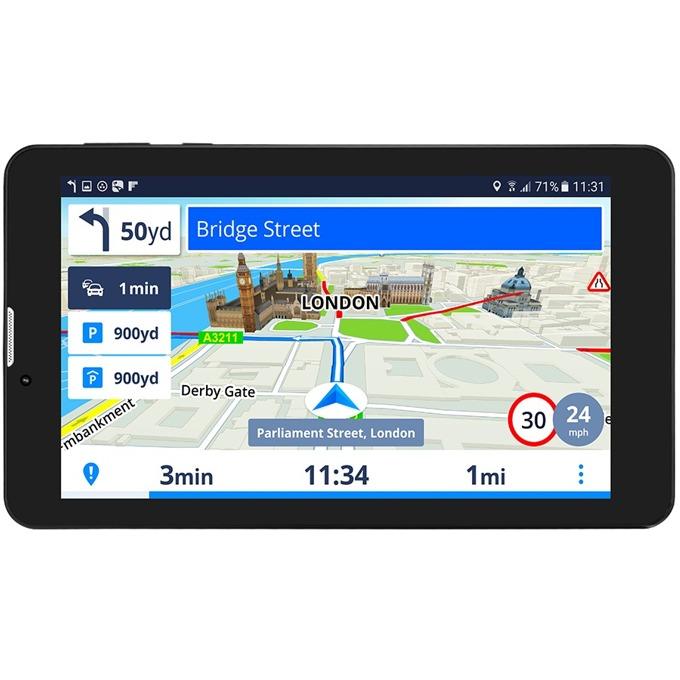 "Навигация за автомобил GeoVision Tour 3 Sygic, 7"" (17.8cm), 8GB вградена памет, SD/SDHC слот, microUSB, карта на България image"
