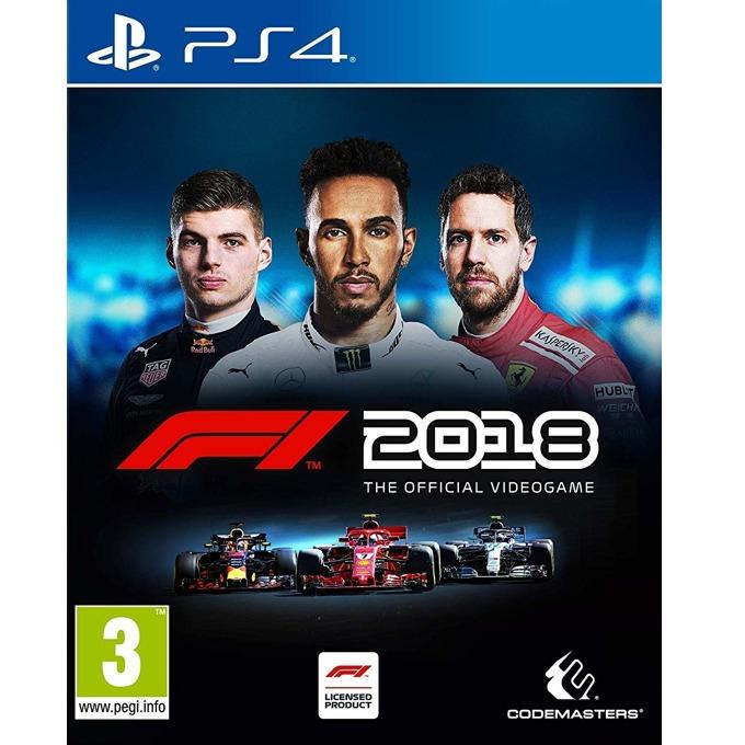 Игра за конзола F1 2018, за PS4 image
