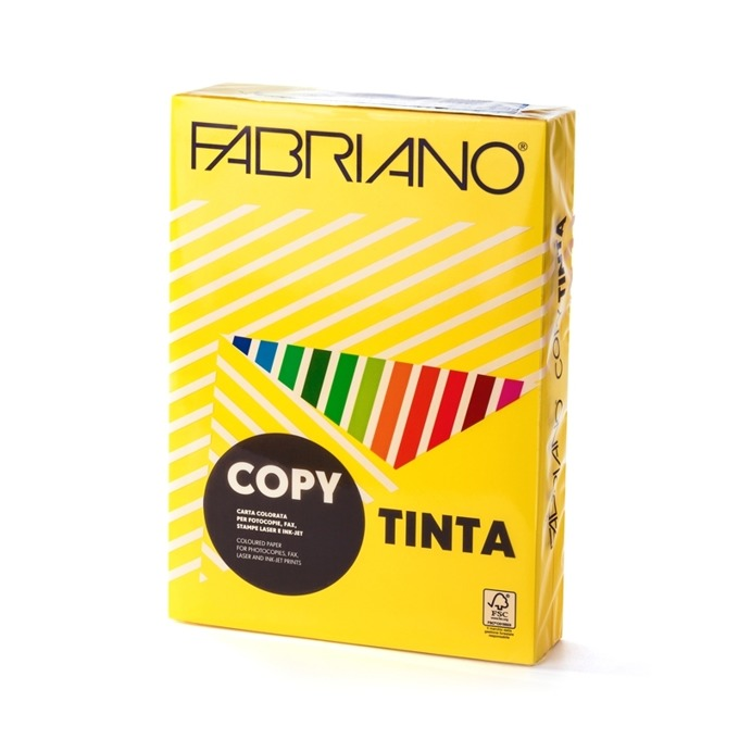 Fabriano A4, 160 g/m2, жълт, 250 листа product