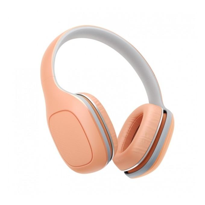 Слушалки Xiaomi Mi Headphones Comfort, микрофон, сензорно управление, оранжеви image