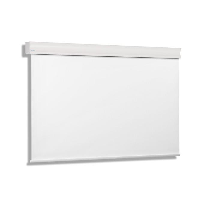 """Екран Avers CUMULUS 24 MW, стенен/таванен монтаж, Matt White, 240 x 240 см, 134"""" (340.36 cm), 1:1 image"""