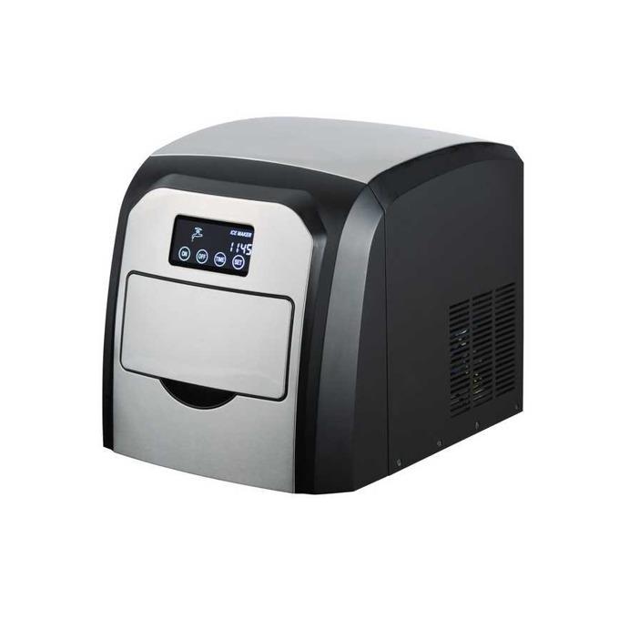 Ледогенератор Finlux FCM-15TD, 1.5 л. вместимост, LCD сензорен дисплей, производителност на лед:10 кг/24ч., 150W, черен image
