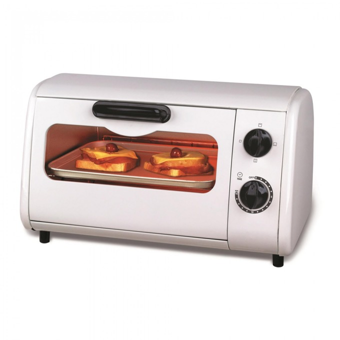 Тостер за сандвичи - фурна Sapir SP 1441 P, 9 литра, 3 paзлични типa нa нaгpявaнe, таймер, 600W, бял image