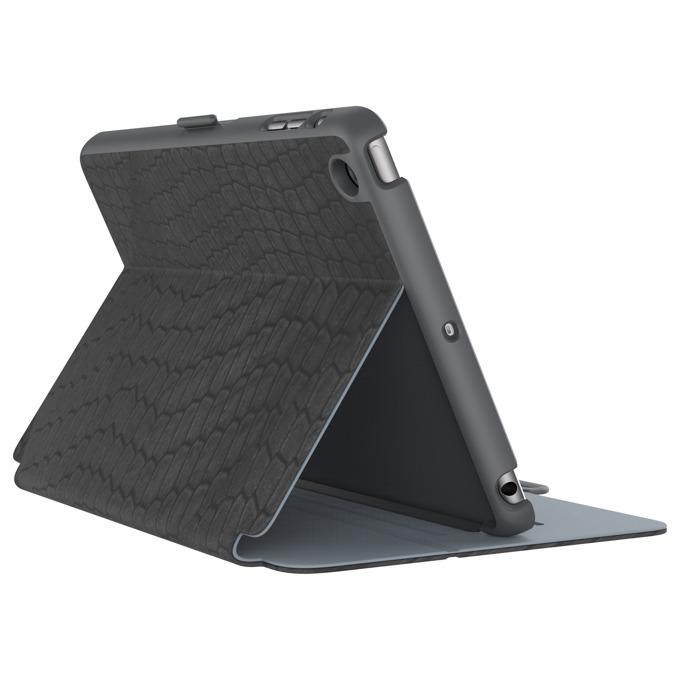 """Калъф тип """"бележник"""" Speck StyleFolio Luxe за iPad Mini 4, тъмносив image"""