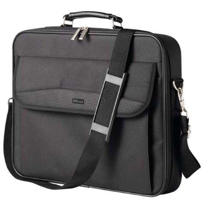 """Чанта за лаптоп Trust 15648 Deluxe BG-3490DP, 15.4""""(39.12cm), черна image"""