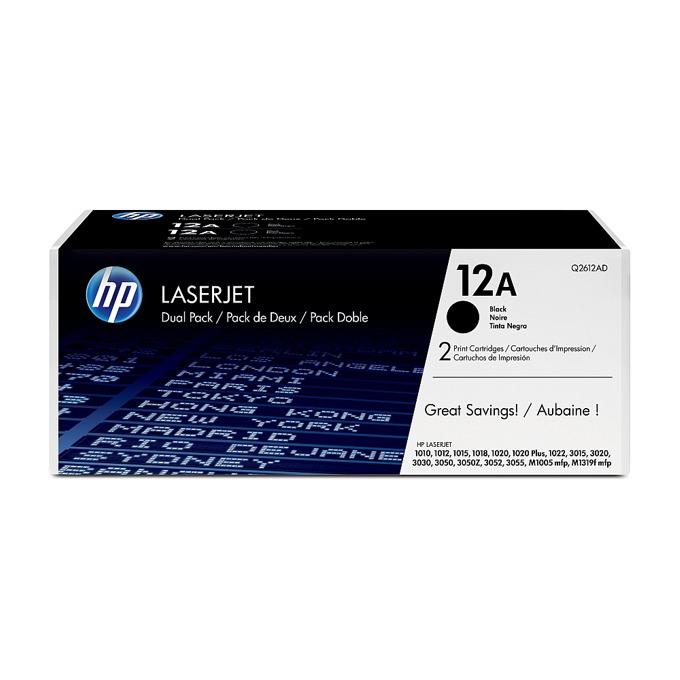 КАСЕТА ЗА HP ULTRA PRECISE PRINT LASER JET M1005/1010/1012/1015/1018/1020/1022/M1319/3015/3020/3030/3050/3052/3055 - Twin pack - P№ Q2612AD - заб.: 2x2000k image