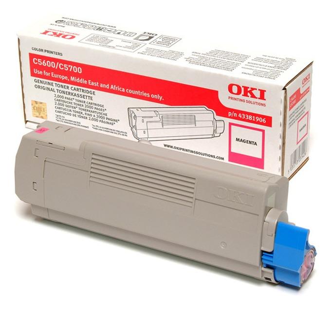 КАСЕТА ЗА OKI C 5600/5700 - Magenta - P№ 4338190 product