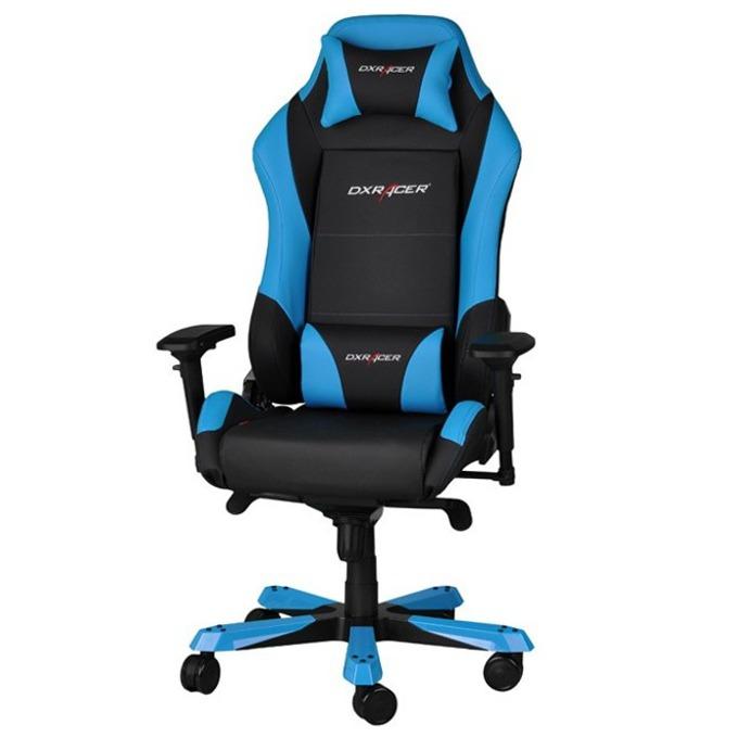 Геймърски стол DXRacer Iron OH/IF11/NB, черен/син image