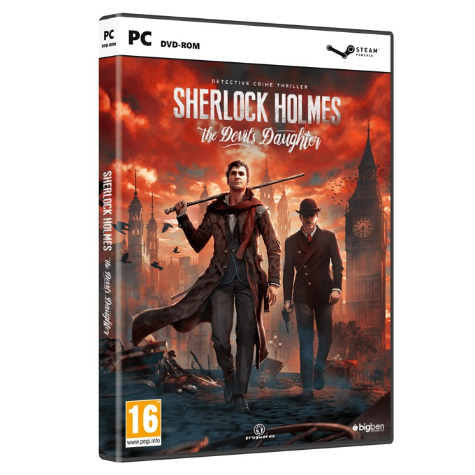Игра Sherlock Holmes: The Devils Daughter, за PC image