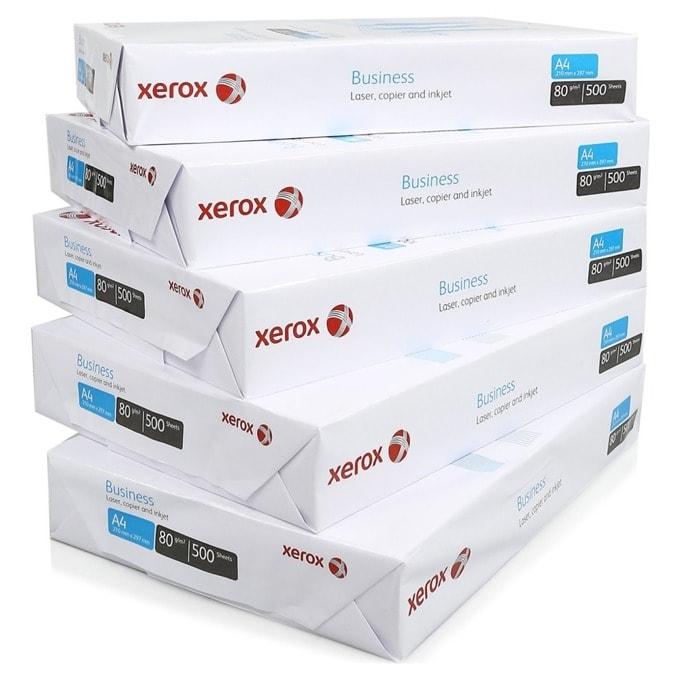 Копирна хартия Xerox Business, A4, 80 g/m2, 500 листа, 5 пакета image