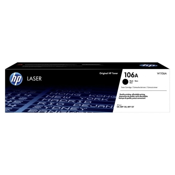 HP 106A BlackOriginal Laser Toner Cartridge