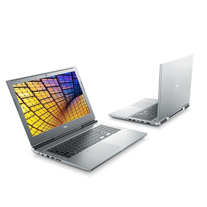 "Лаптоп Dell Vostro 7580 (N3403VN7580EMEA01_1905)(сребрист), шестядрен Coffee Lake Intel Core i7-8750H 2.2/4.1 GHz, 15.6"" (39.62 cm) Full HD IPS Display & GF GTX 1060 6GB, (HDMI), 8GB DDR4, 1TB HDD & 128GB SSD, 1x Thunderbolt 3, Windows 10 image"