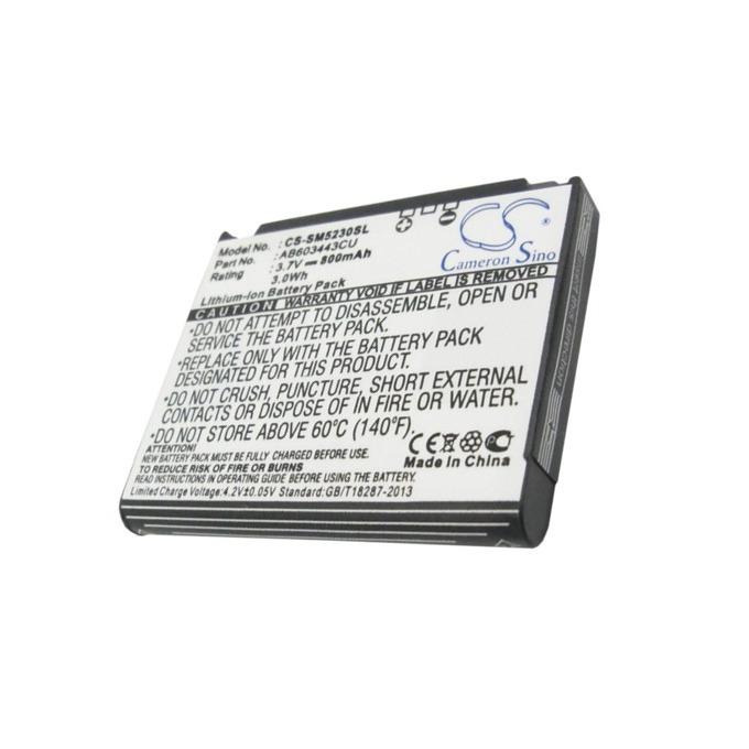 Батерия (заместител) за телефон Samsung S5230, 3.7V/800 mAh  image