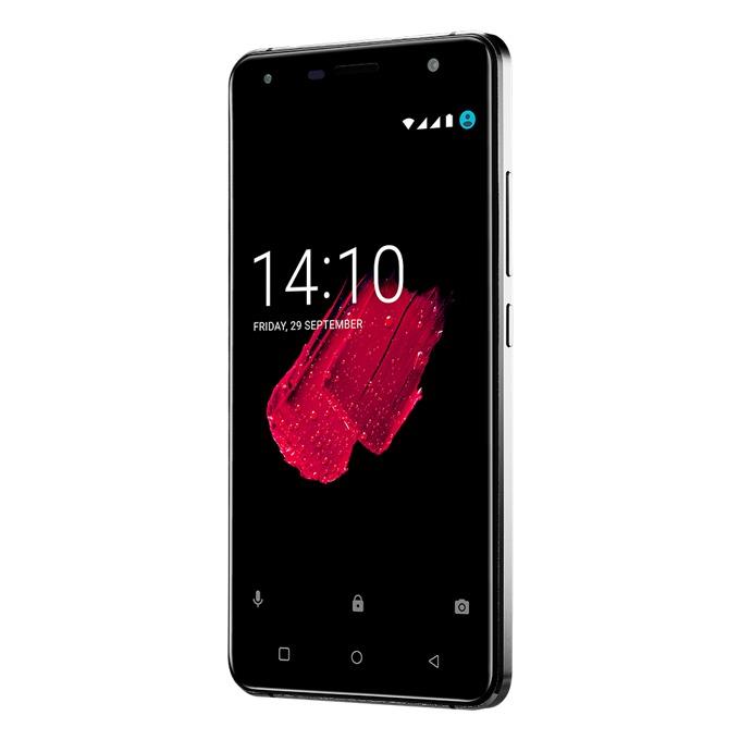 "Смартфон Prestigio Muze D5 LTE (черен), поддържа 2 sim карти, 5.0""(12.70 cm) IPS HD дисплей, четириядрен 1.4GHz процесор, 1GB RAM, 8GB Flash памет, 8.0 & 2.0 Mpix camera, Android, 165g image"