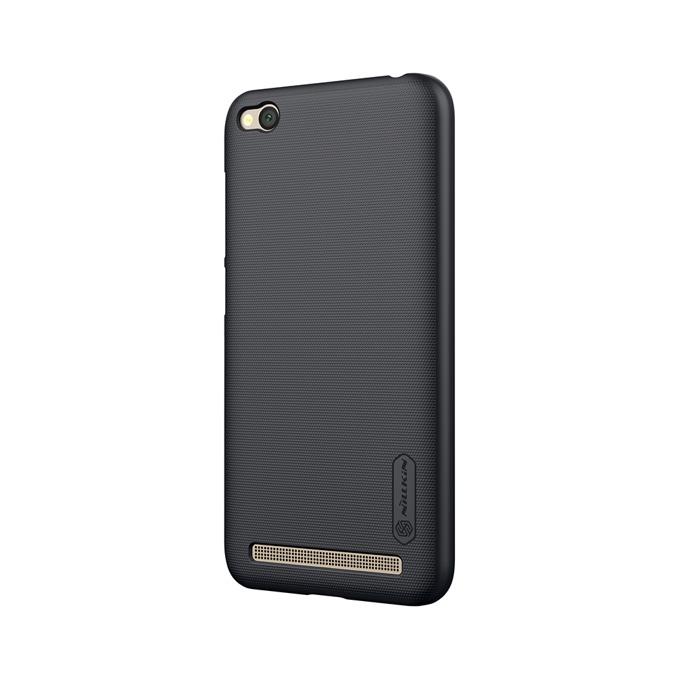Калъф за Xiaomi Redmi 5A, страничен протектор с гръб, пластмасов, Nillkin Redmi 5A, черен image