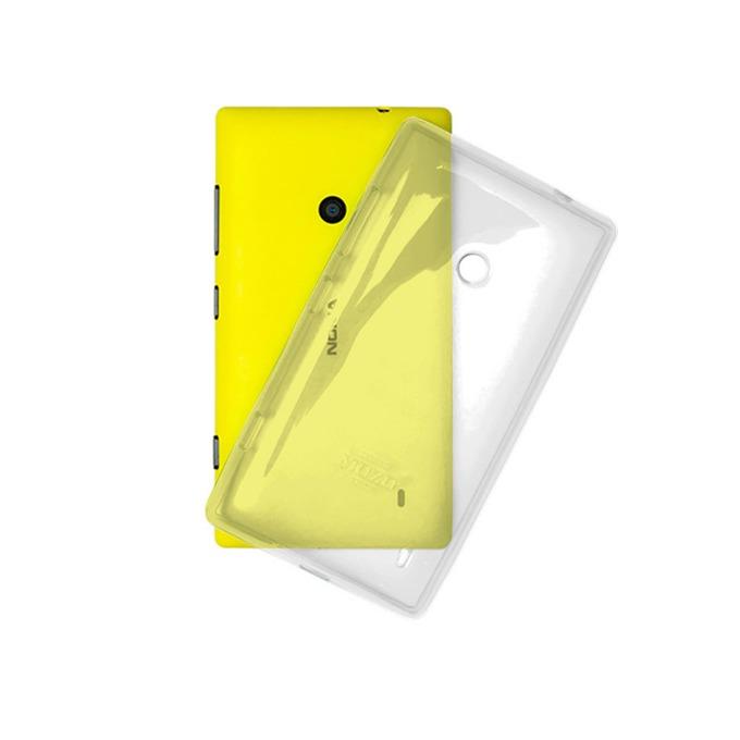 Заден капак Nokia Lumia 520, прозрачен image