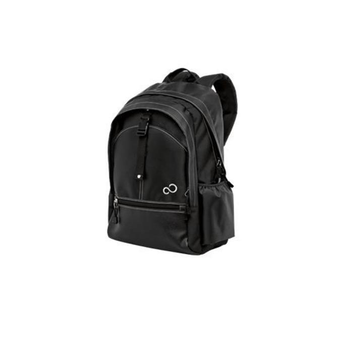 """Раница Fujitsu Casual Backpack, за лаптоп до 16"""", черно/сива image"""