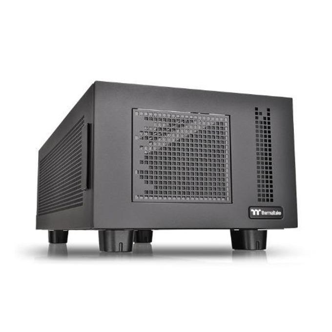 Кутия Thermaltake Core P100 Black CA-1F1-00D1NN-00, XL-ATX, 4x USB 3.0, черна, без захранване  image