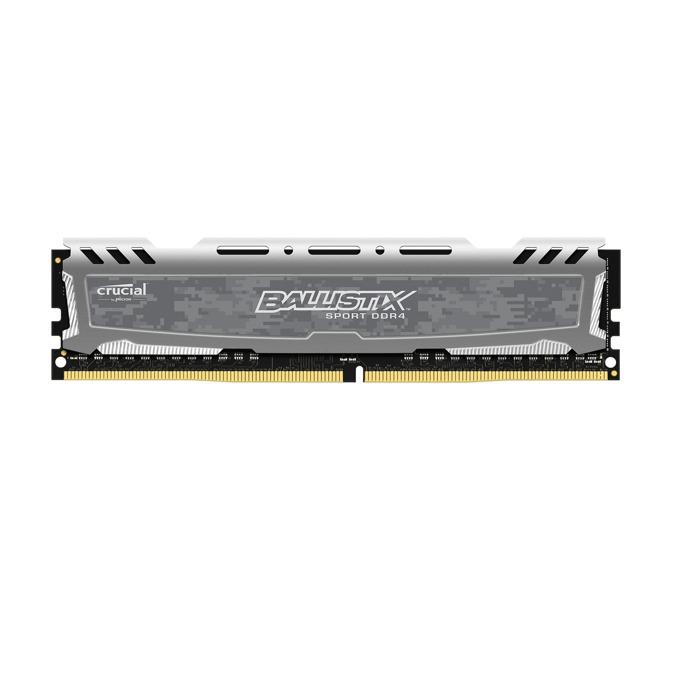 Памет 8GB DDR4 2666MHz, Crucial Ballistix BLS8G4D26BFSBK_C, 1.2V image