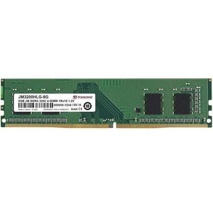 Transcend 8GB JM DDR4 3200Mhz JM3200HLG-8G product