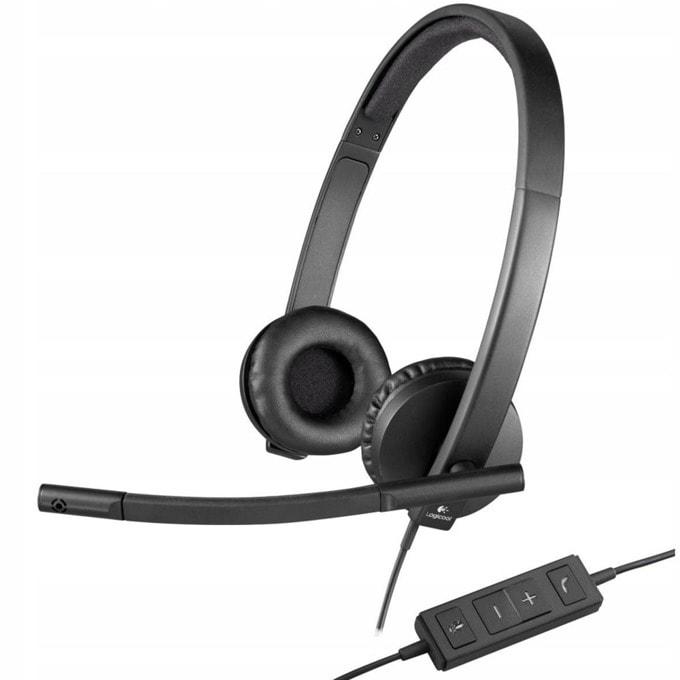 Слушалки Logitech Stereo H570e 981-000575