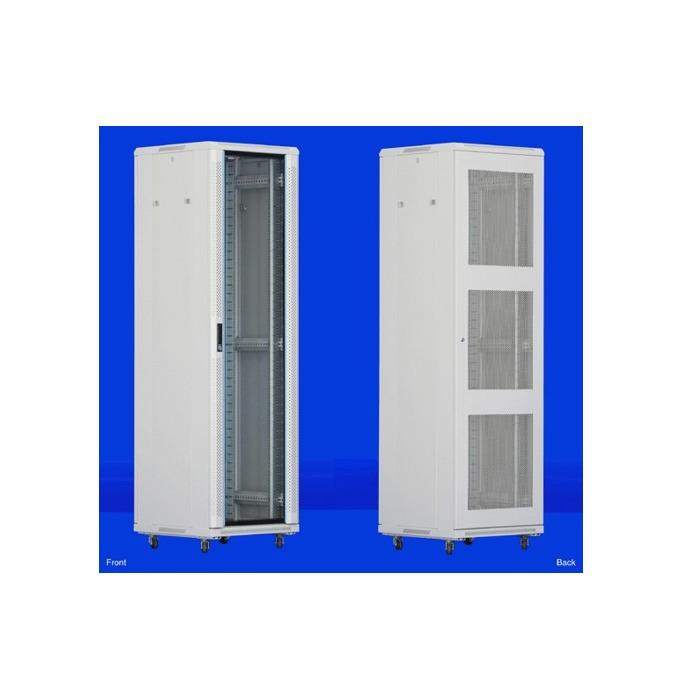 "Комуникационен шкаф Toten AS.6632, 19"", 32U, 600x600 мм, до 800кг товароносимост, IP20 защита image"