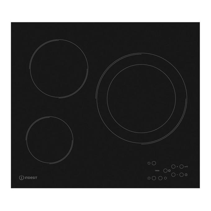 Керамичен плот за вграждане RI 360 C, 3 Нагряващи котлони, Функция заключване, черен image