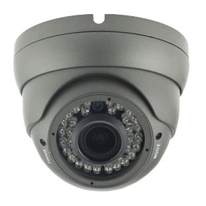 TVI/AHD камера irLAN DOL-TA1080VFSN30B, куполна камера, 2.4MP(1080p), 2.8-12mm обектив, IR осветеност (до 30 m), за външен монтаж image