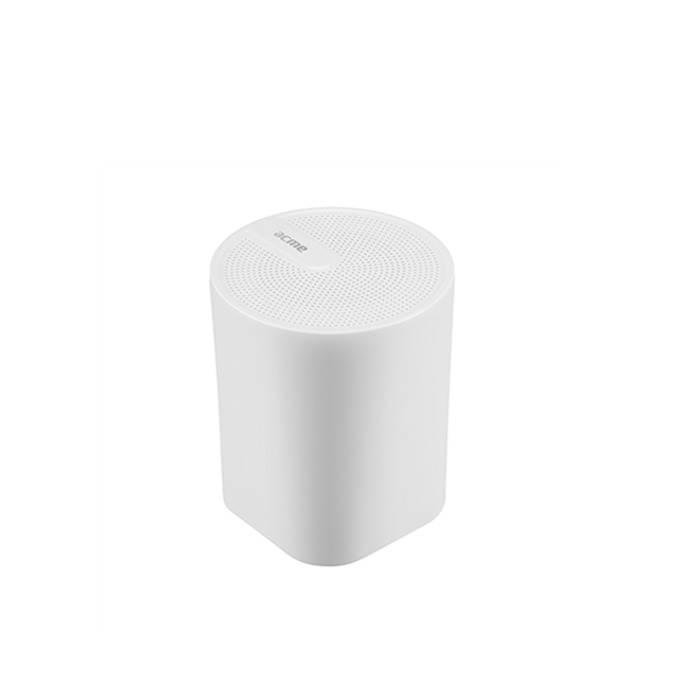 Тонколона Acme SP109W, 1.0, 3W RMS, Bluetooth, AUX, до 6 часа възпоизвеждане, бяла image