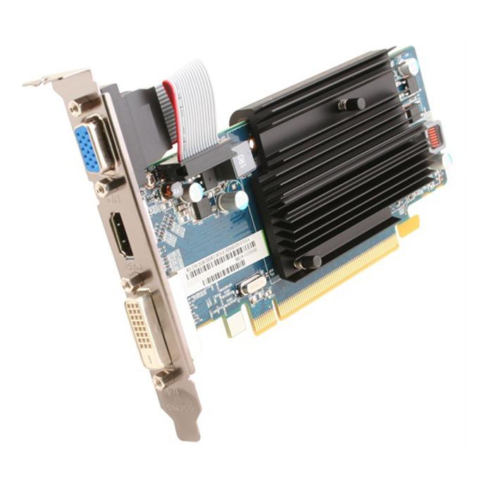 Видео карта AMD R5 230, 2GB, Sapphire, пасивно охлаждане, PCI-E, DDR3, 64-bit, HDMI & DVI, BULK image