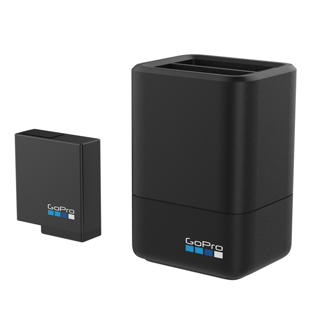 Зарядно устройство GoPro Dual Battery Charger в комплект с батерия 1220mAh, съвместимо с батерии за камерa GoPro HERO5 Black image