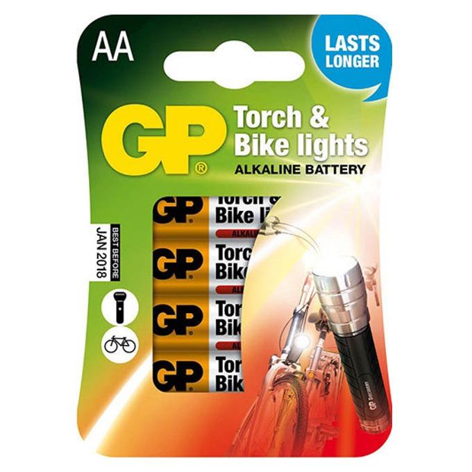Батерии алкални GP Torch & Bike Lights ААА, 1.5V, 4 бр. image